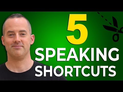 5 English Speaking Shortcuts That Make You Sound Native