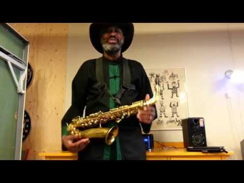 Real blues saxophone made easy lesson 3. easy blues licks in A