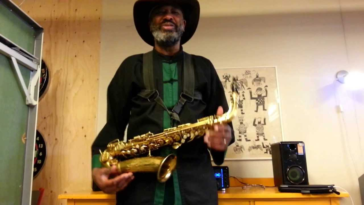 Real blues saxophone made easy lesson 3  easy blues licks in A