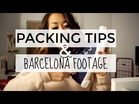 Travel Vlog 1: Packing Tips & Barcelona Days