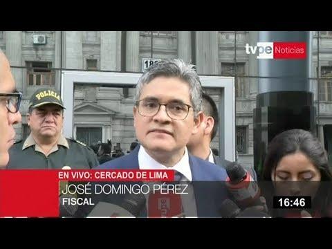 José Domingo Pérez pide al INPE garantías para la seguridad e integridad de Luis Nava