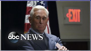 Trump associate Roger Stone sentenced to 40 months in prison l ABC News