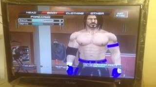 Wie erstellen aj styles in der wwe 2011 PS3