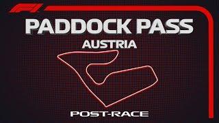 F1 Paddock Pass: Post-Race At The 2019 Austrian Grand Prix