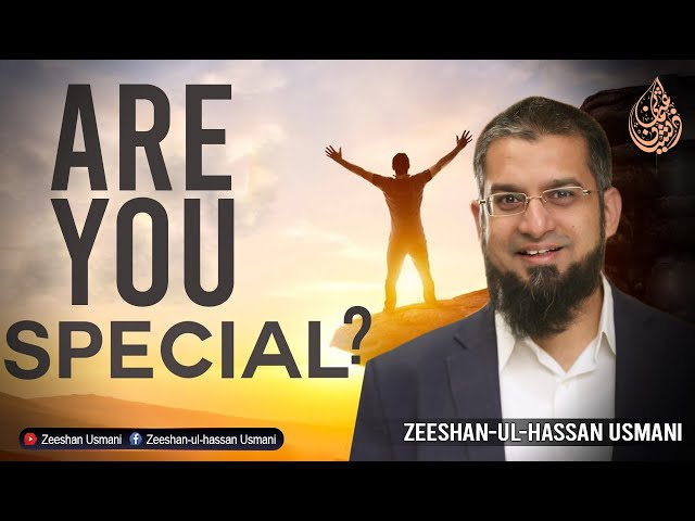 Are You Special? کیا آپ خاص ہیں؟