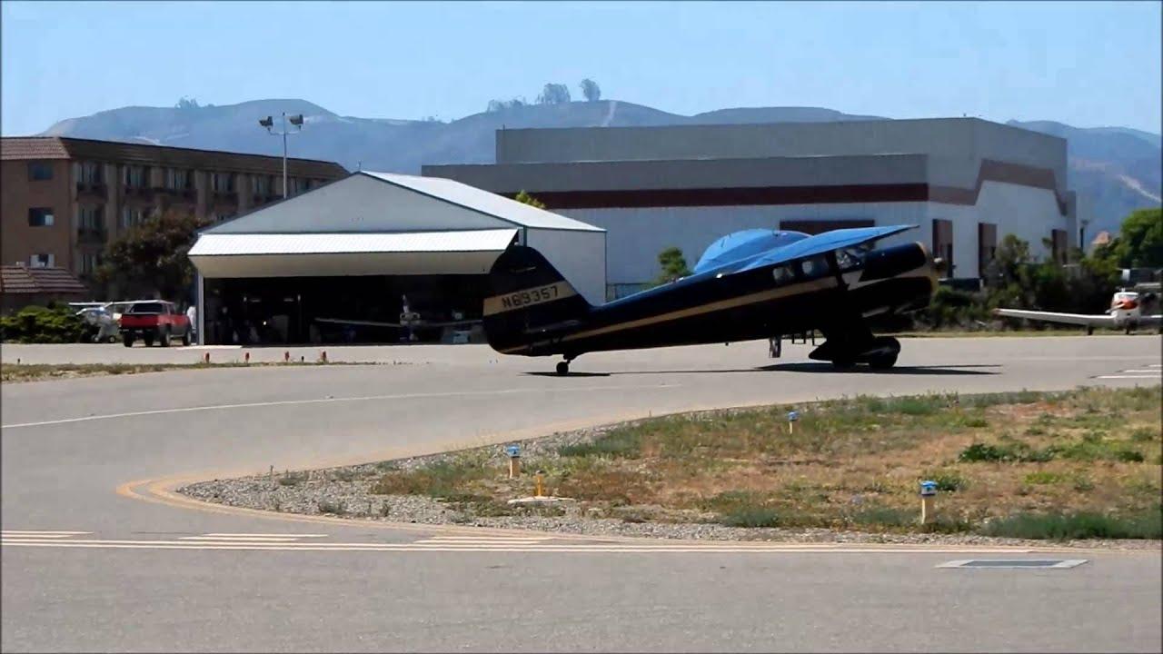 Flight in Stinson V77 Reliant (AT-19)