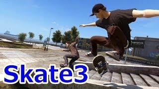 自分で手元に戻ってくるスケボ Skate3実況プレイ Part1