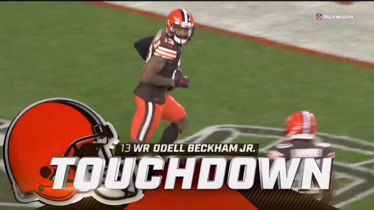 Odell Beckham Jr. 43 Yard Touchdown | Bengals vs. Browns | NFL Week 2