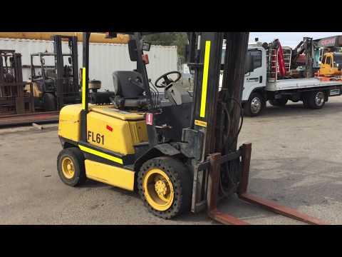 WF013 - 2001 Caterpillar GDP30TH Diesel 3 Ton Forklift