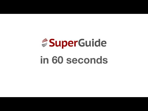 SuperGuide Premium in 60 seconds
