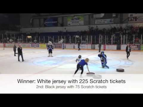 Nebraska Lottery sponsor night at Lincoln Stars hockey
