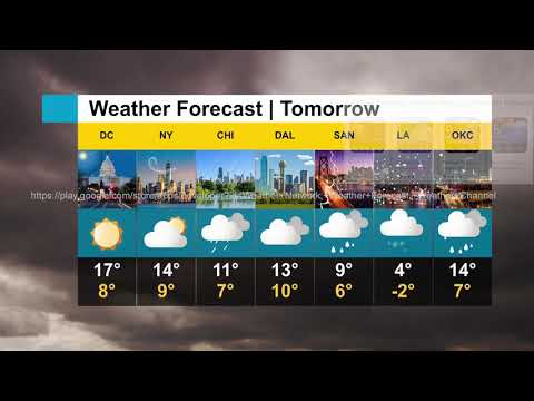 Todays Weather, Weather Today & Tomorrow Forecast Promo
