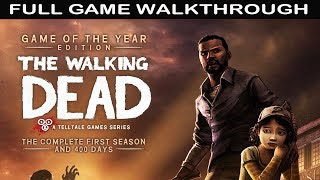 The Walking Dead Season 1 Full Game Walkthrough - No Commentary (Telltale Games)