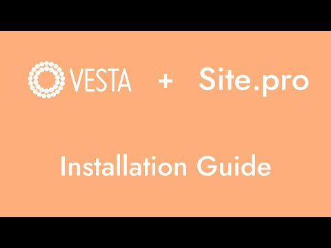 Vesta — Ideal Website Builder for Your Vesta
