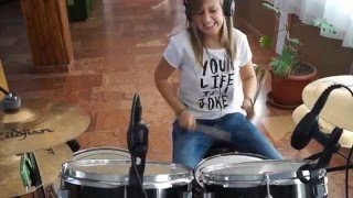 Halápi Katinka - P!nk - Today's The Day (drum cover)