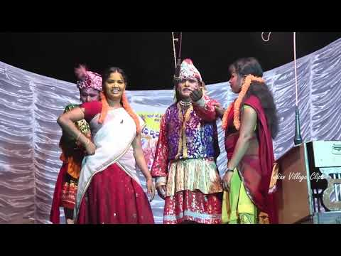 Village Stage Recording Dance On Andhra