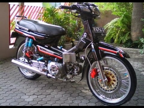 modifikasi motor honda grand terkeren