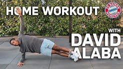 Home Workout with David Alaba | FC Bayern