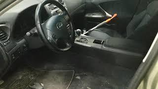 Ремонт подогрева сиденья Lexus IS 250
