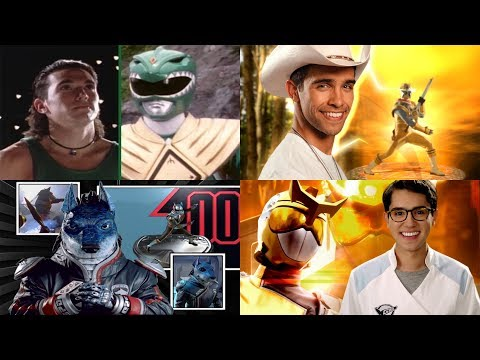 All Power Rangers Final Opening Themes