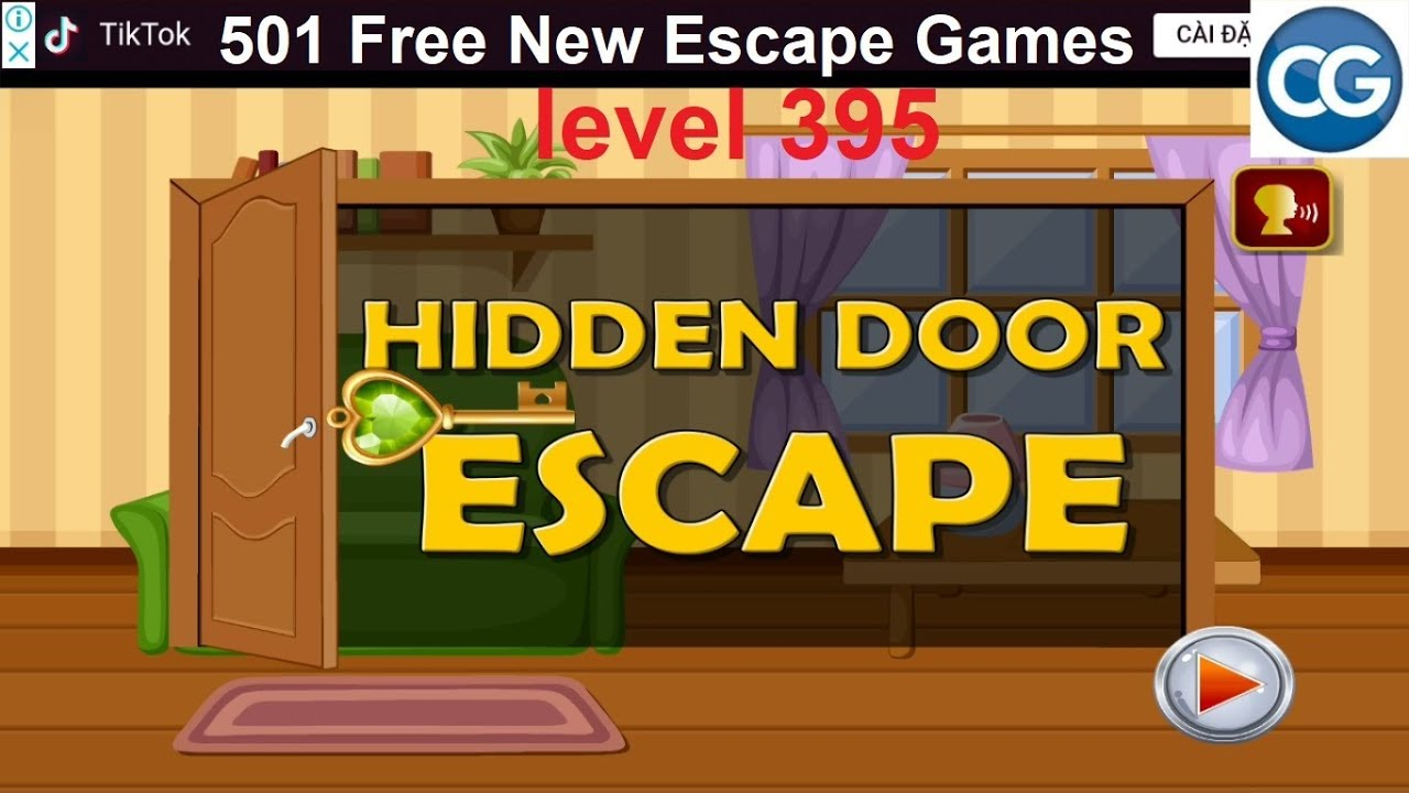 Walkthrough 501 Free New Escape Games Level 395 Hidden