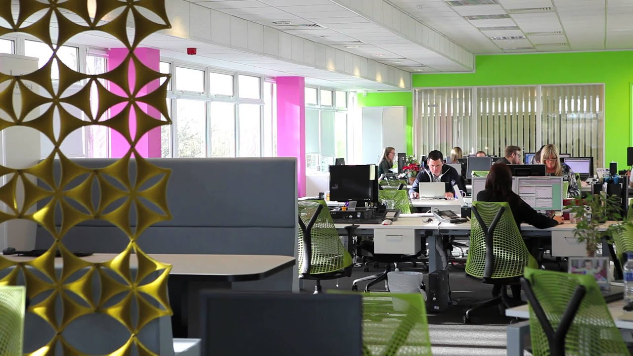 open plan office design ideas. large openplan office and funky breakout space installed without disruption to daytoday business youtube open plan design ideas
