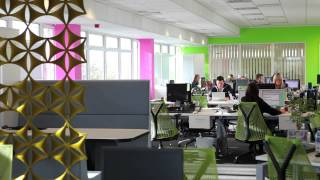 Large Open-plan Office And Funky Breakout Space Installed Without Disruption To Day-to-day Business
