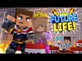 Minecraft FUTURE LIFE - LITTLE KELLY & LITTLE DONNY BACK TOGETHER TO BREAK THE KIDS OUT OF PRISON!!
