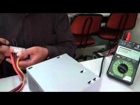 How to check the output voltage of an SMPS - YouTube
