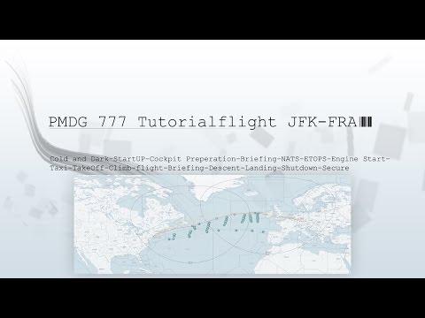 PMDG 777 Tutorialflight JFK-FRA