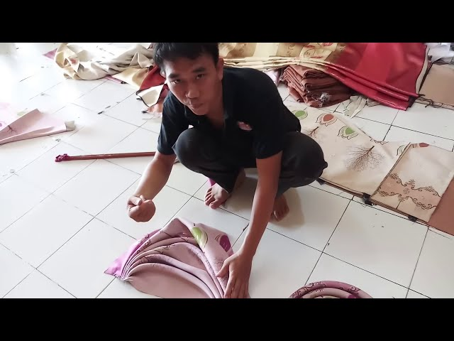 how to make swags, curtains