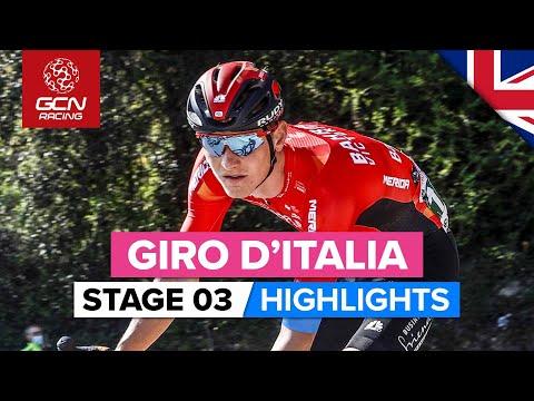 Giro d'Italia Stage 3 Highlights