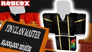 THE 10,000,000 YIN CLAN MASTER NINJA SUIT IN ROBLOX (Ninja Assassin) Episode #1