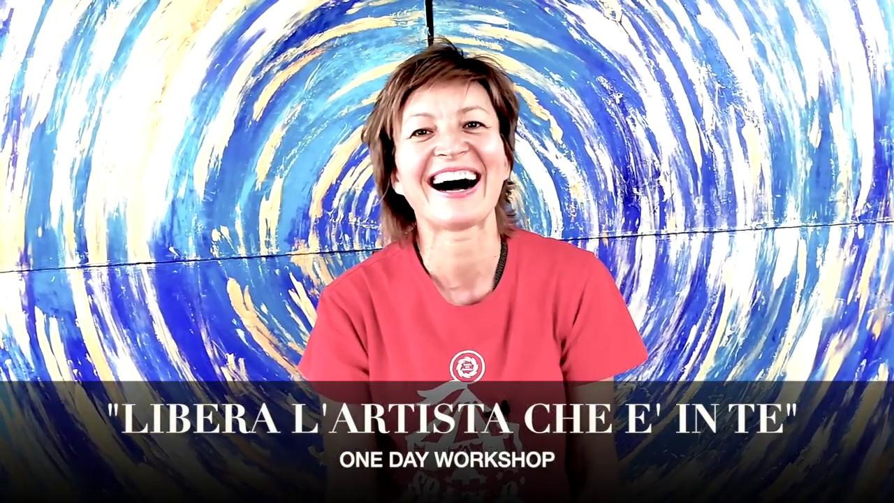 """LIBERA L'ARTISTA CHE E' IN TE"" | one day workshop | Testimonianze"