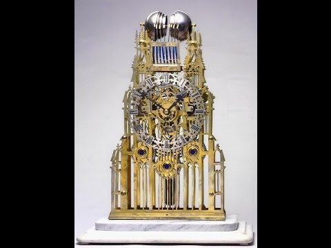 Bob Schmitt on Architectural Skeleton Clocks