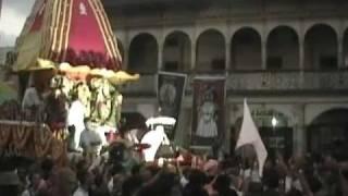 Belgaum, India Ratha yatra  2006 - H.H.Jayapataka Swami Maharaja.