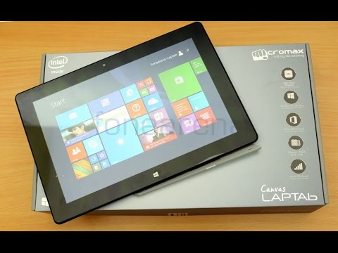 Micromax Canvas LapTab Lt666w (Rs12500) PC Unboxing+Review
