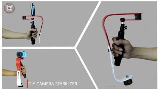 How to make a camera stabilizer from old pvc pipe V.2