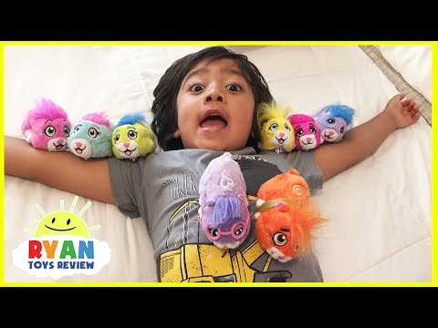 Hide and Seek Zhu Zhu Pets Hamster Surprise Toy Hunt Challenge with Ryan Toys