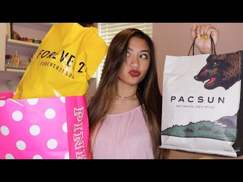 HUGE FALL CLOTHING TRY ON HAUL 2017