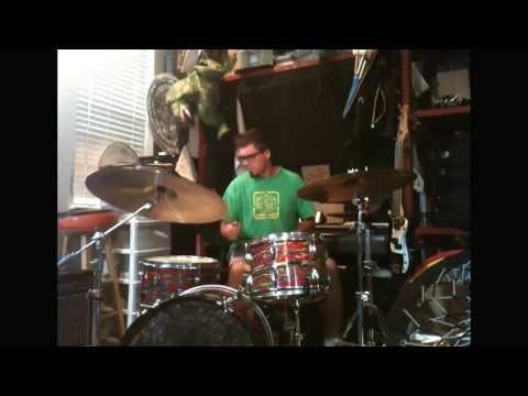 David Mahoney, drummer October 2013 a James Brown type groove into a drum solo. zildjian & bosphorus