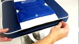 How to use Beovation's hot and cold pad with the seat cushion