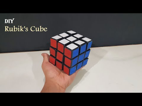how-to-make-a-rubik's-cube-from-cardboard-with-templates
