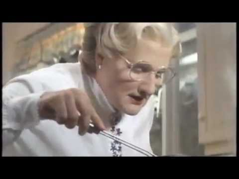 Mrs Doubtfire Cooking Scene Youtube