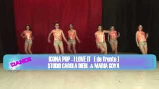 Coreografia da Música I Love It de Icona Pop (vista frontal) / TKM Brasil