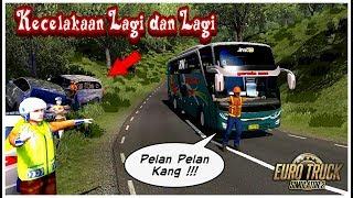 NIATNYA PENGEN LIAT YG CALAKA MALAH GUA YG CELAKA ! KOCAK !!! / ETS 2 Mod Indonesia