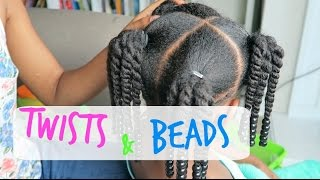 Natural Kids: Back to School Hair Styles|| How to-4C|| Episode 3