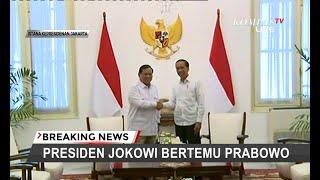 Prabowo Subianto Temui Presiden Joko Widodo di Istana, Bahas Kursi Menteri Untuk Gerindra?