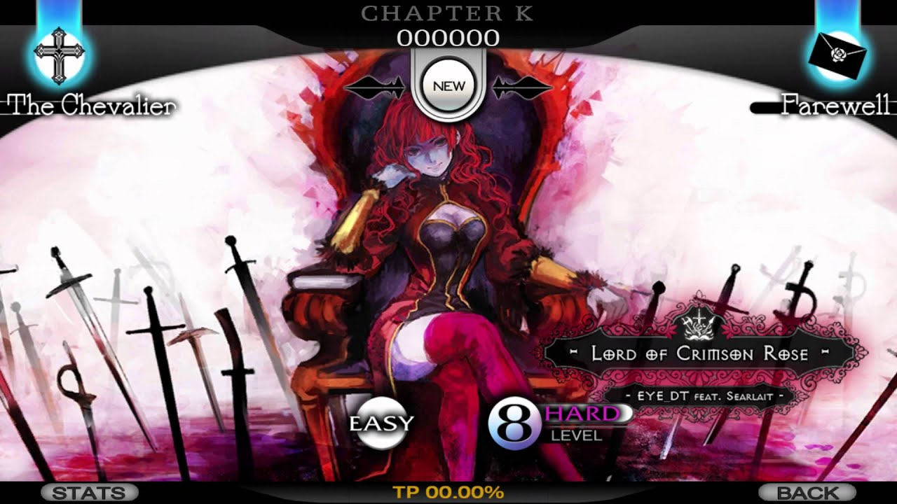 Cytus: 06 - Lord of Crimson Rose (The Queen) - EYE_DT feat Searlait [Chapter K: Knight]