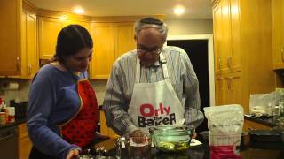 Orly The Baker's Dad And Cousin Bake Gluten Free Chocolate Cake With Blends By Orly